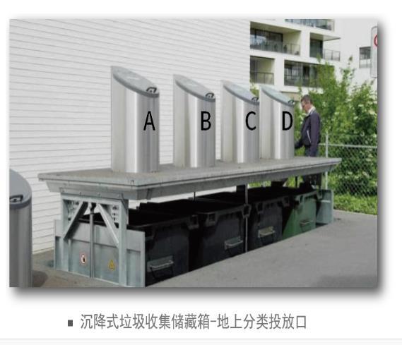 泸州泸县/叙永/合江地埋式垃圾桶/地埋式垃圾站价格