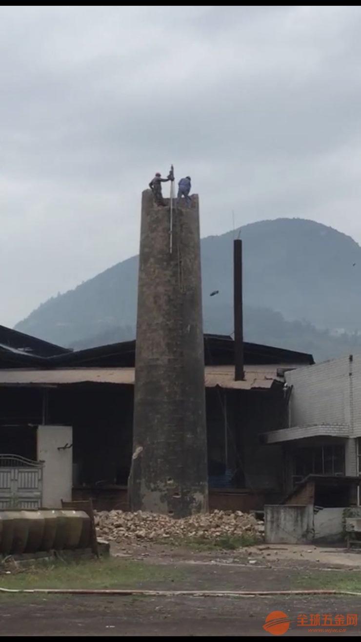 欢迎咨询-绥化30-60米砖烟囱拆除公司