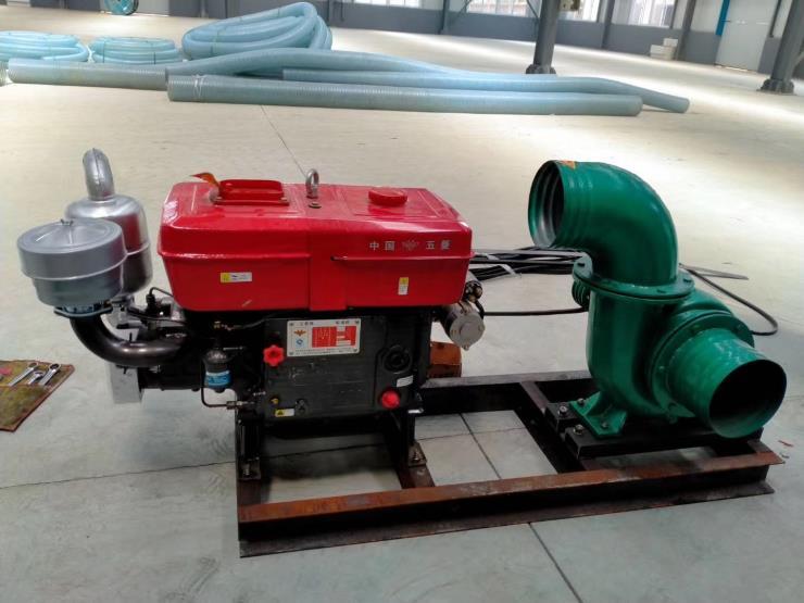 抢险汽油机水泵陵县抽水机图片