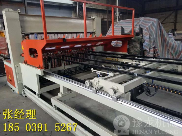 山西吕梁市钢筋网片自动排焊机多少钱一台