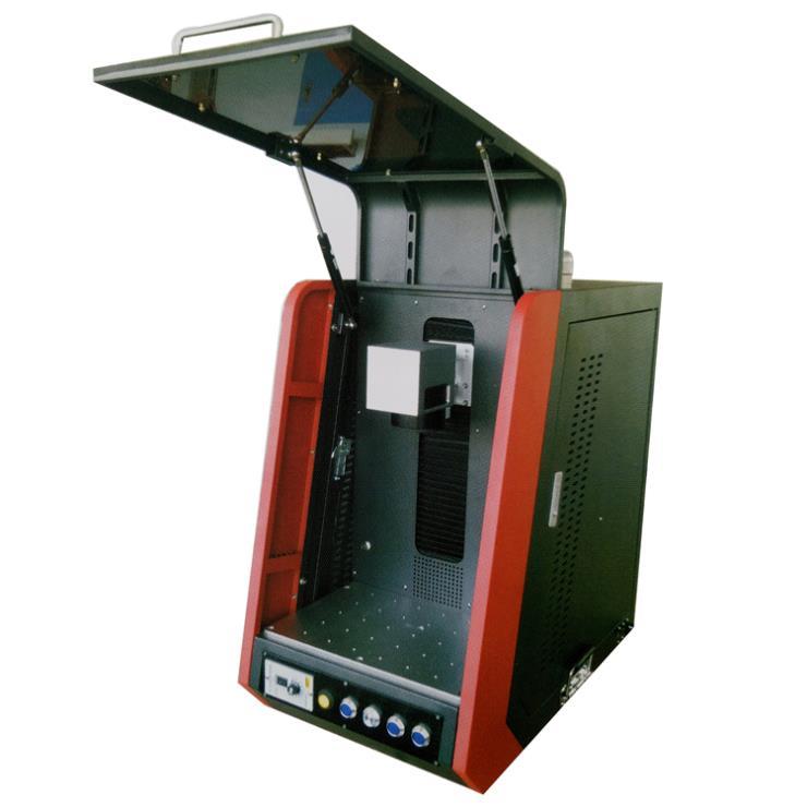贵州 电子元器件激光打码机 计算机键盘光纤激光打标机