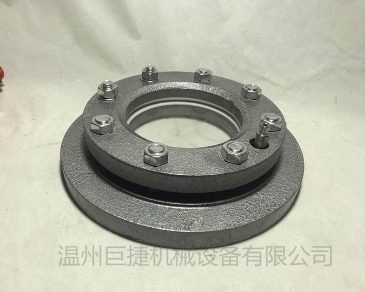 NB47017带防爆灯视镜(冲洗装置) 带冲洗视镜?设备视镜