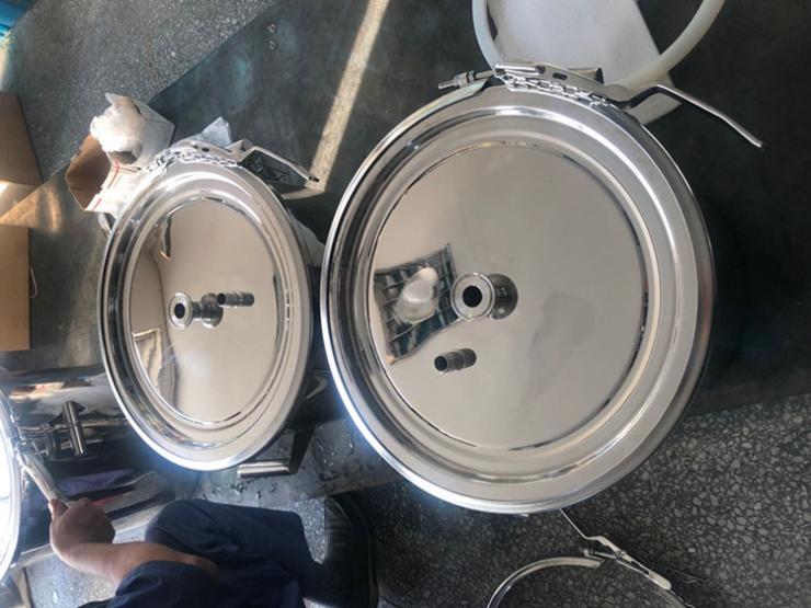 304不锈钢双倍单倍卡箍奶桶 卡箍 卫生级抱箍卡箍