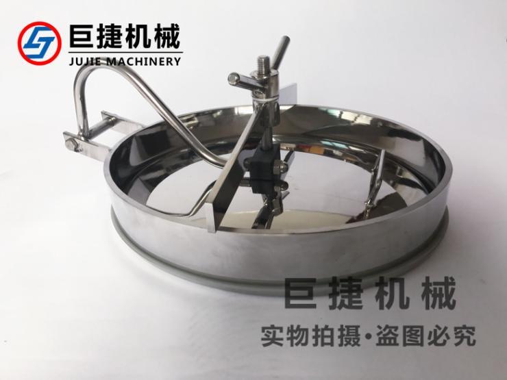 430*330 不锈钢 卫生级内开椭圆人孔、椭圆人孔盖