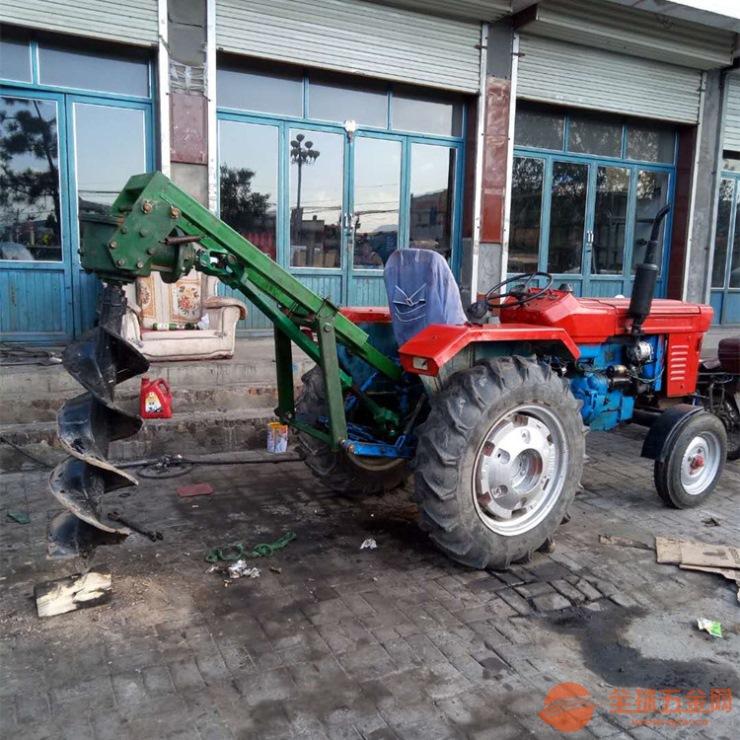 淄博水泥桿挖坑機打洞機效率