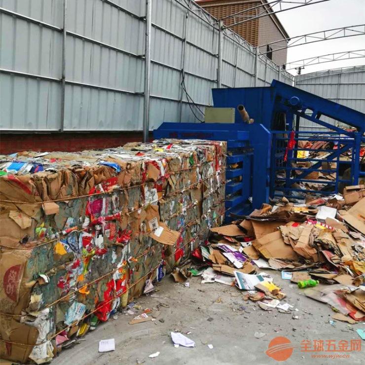 资阳垃圾废品液压打包机厂家批发