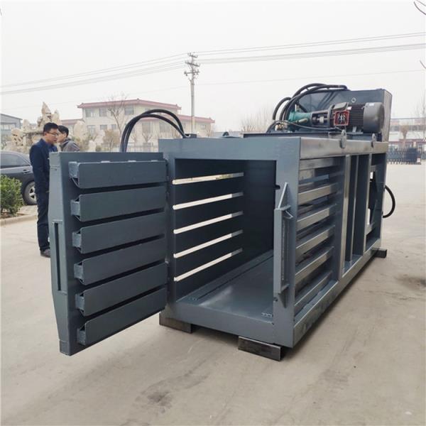 安徽大型80吨卧式废纸液压打包机多少钱