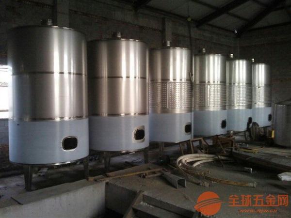 大庆不锈钢发酵罐制作安装