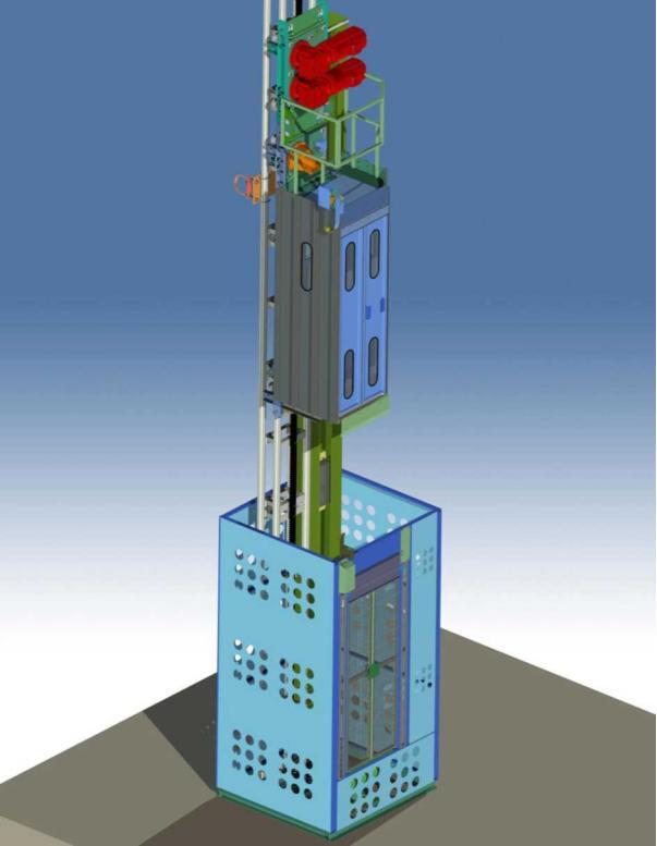 新聞:磐石市熱電廠煙筒安裝電梯公司歡迎指導