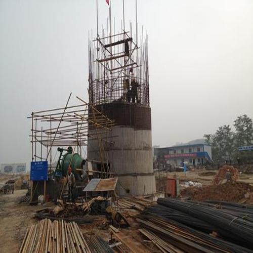 辽宁省新建方烟囱认可江苏海工建设有限公司@异型烟囱