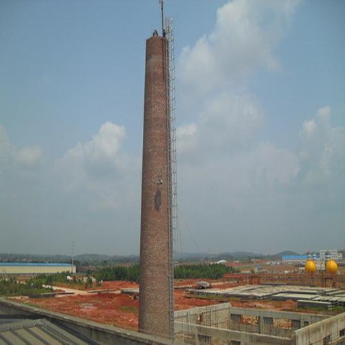 济南市滑模方烟筒只信江苏海工建设必威体育手机登录*方结构烟筒