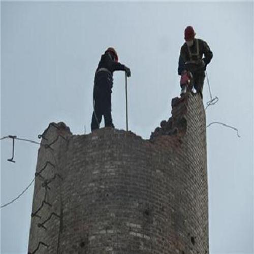 宁波市人工拆除锅炉烟筒施工队伍