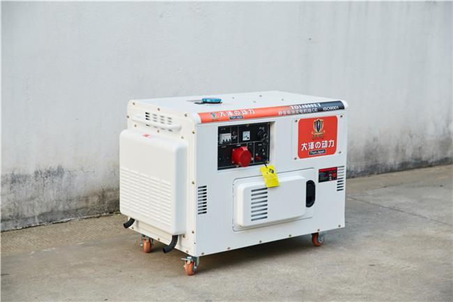 10千瓦小型柴油發電機