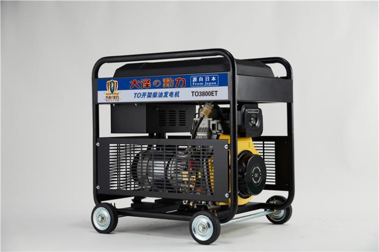 双杠15kw柴油发电机尺寸小