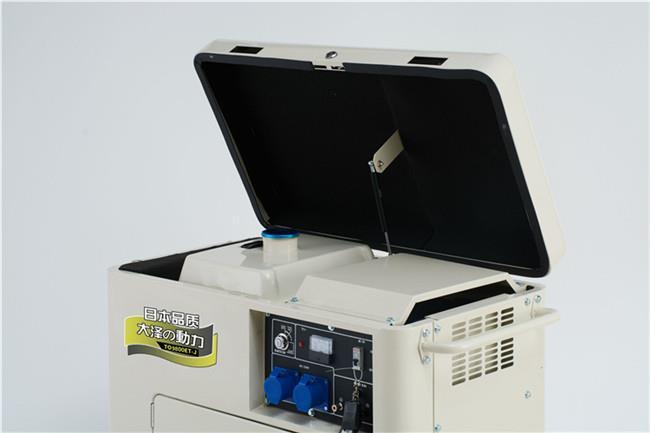 3kw静音柴油发电机尺寸要求