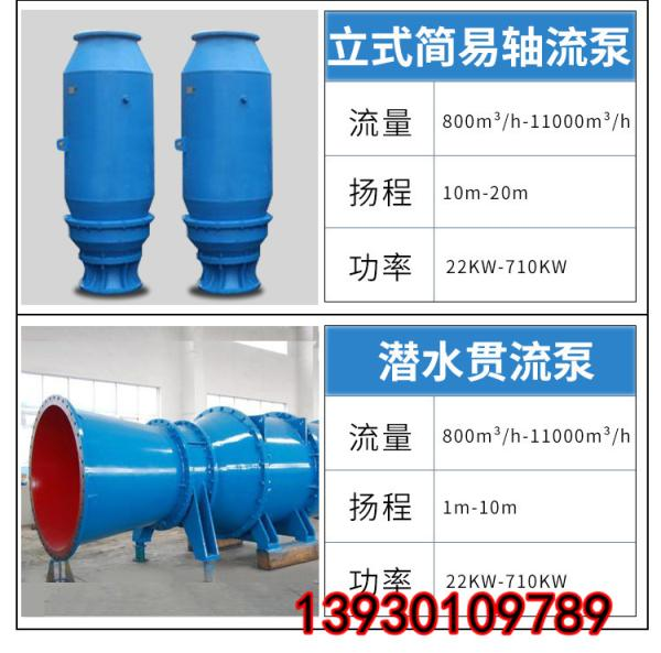 350QZB-125轴流泵的叶轮紧跟消费市场的变化