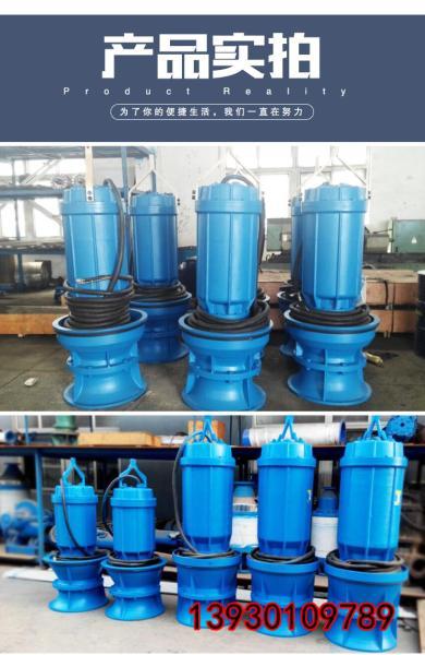 350QZB-125J排水专用雪橇式轴流泵了解结构可以更好的运用