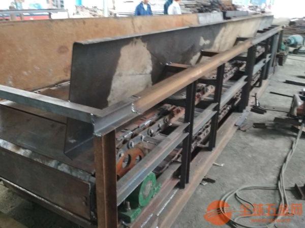 水平板链输送机环保输送石板链板输送机结构出售厂家