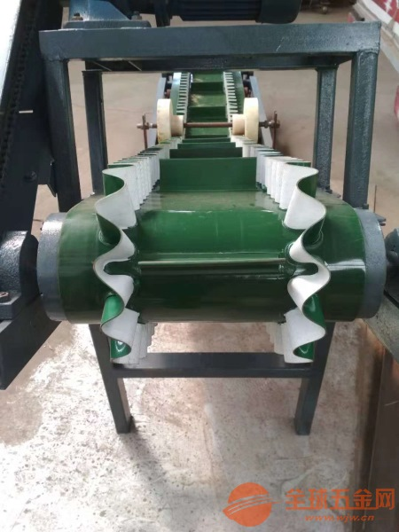 防油耐腐专用防滑输送机 挡边型散料皮带机xy1