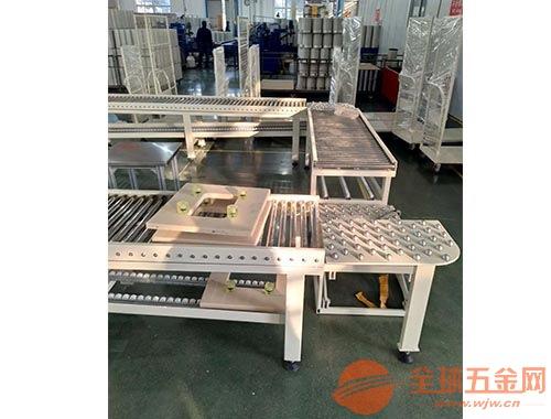 台湾辊筒输送机 铝型材倾斜输送滚筒