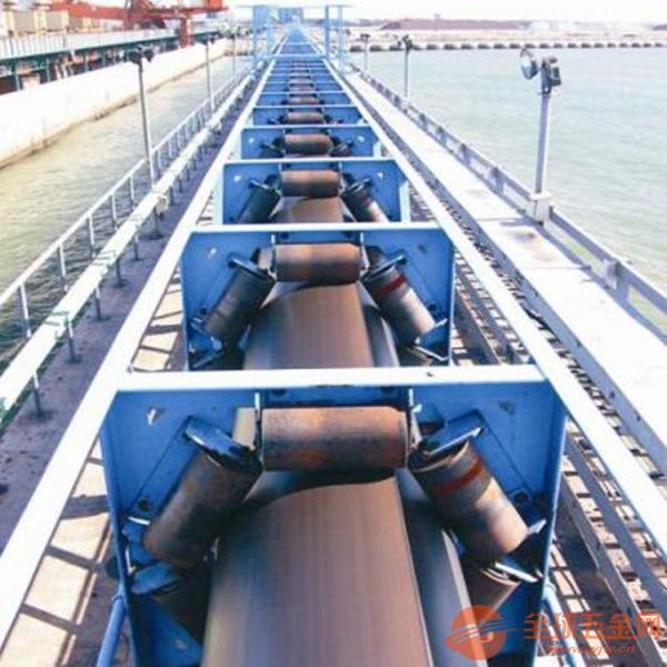 湖北管式带状输送机 避免漏料移动式