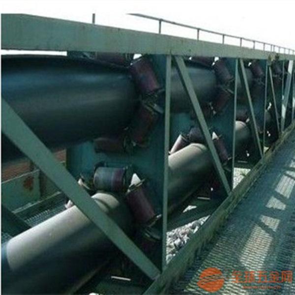 山东圆管带式输送机 密闭输送物料固定型