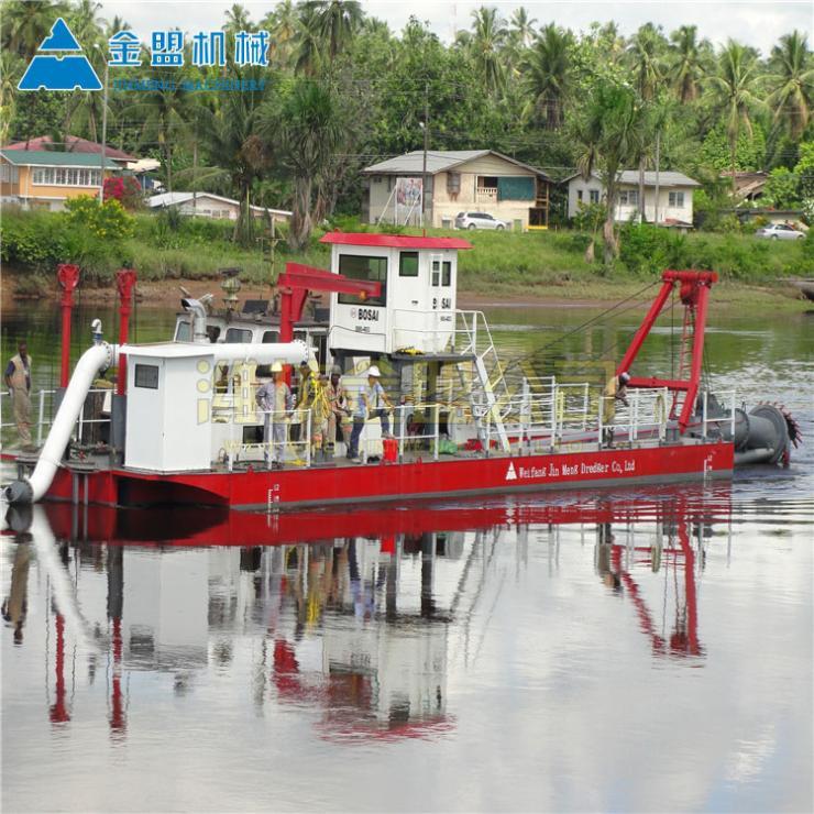 机械式河道清淤船操作简单