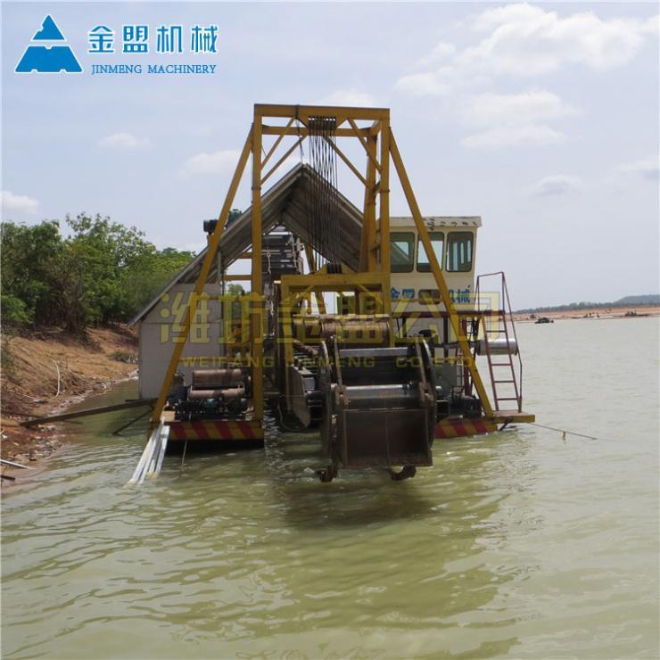 淄博环保绞吸式挖沙船安装调试