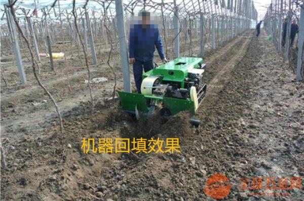 自走式履带施肥埋肥一体机图片