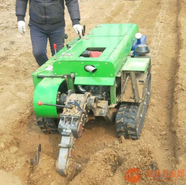 白河自走式履带旋耕机视频及图片