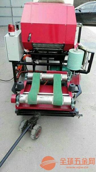 變頻全自動打捆包膜一體機青貯飼草打捆包膜機使用說明