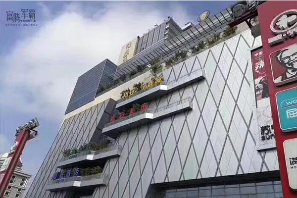 北海和安・宁春城案例铝单板、造型铝方通厂家供应