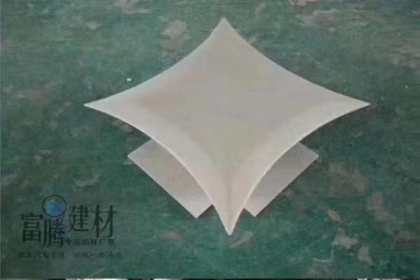 广西玉林中鼎中心售楼部案例铝单板、铝方通厂家供应