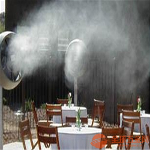 户外酒吧餐厅冷雾降温设备,深圳通宝环境直销