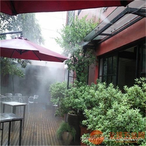 专业生产室外酒吧餐厅高压喷雾降温设备厂家
