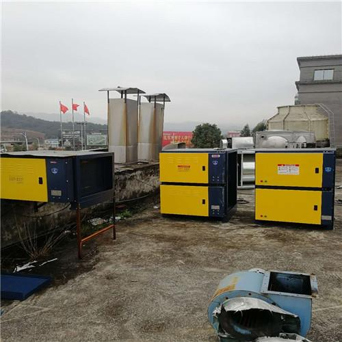 垃圾中转站UV光解除臭设备工程