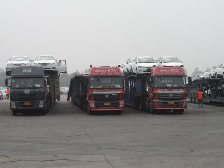 从淮安到新乡红旗4.2米9.6米13.5米17.5米物流货车