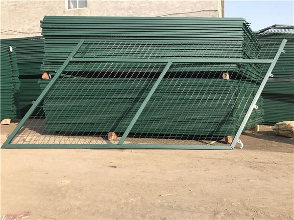 橋區防護柵欄金屬網片