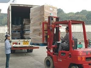 惠州博罗县到吕梁岚县13米平板货车17米物流配货车