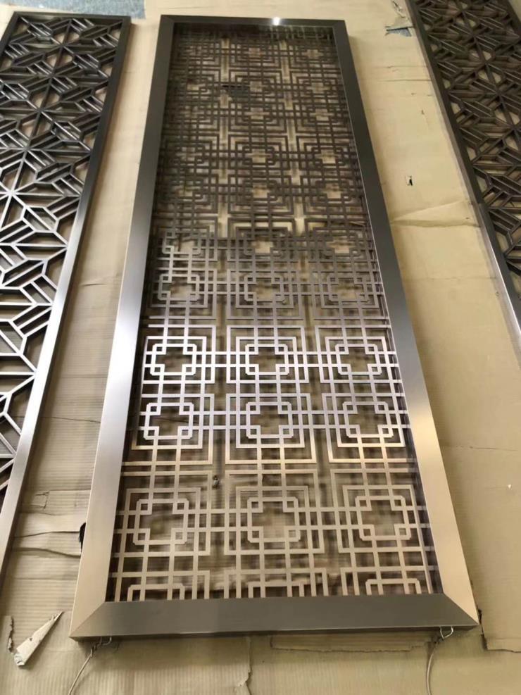 江苏不锈钢电镀厂,不锈钢屏风镀钛金,不锈钢镀色厂