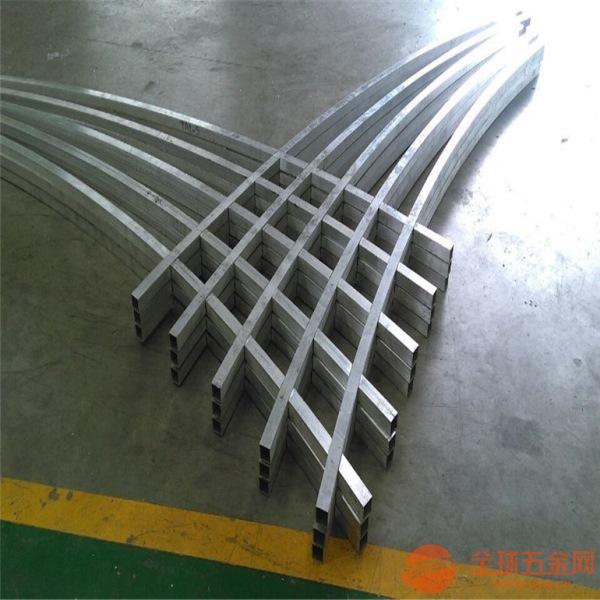 无锡 波浪形铝方通订做 异型铝方管装饰 弧型铝方通厂家
