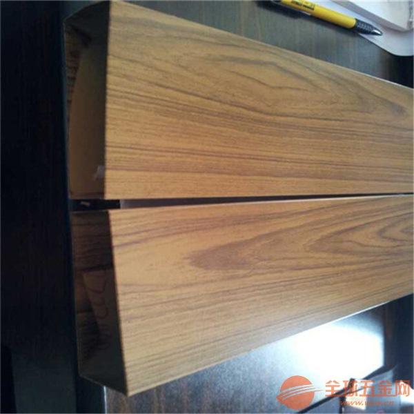 张家界 聚酯铝方管装饰 木纹铝方管规格 铝方通厂家