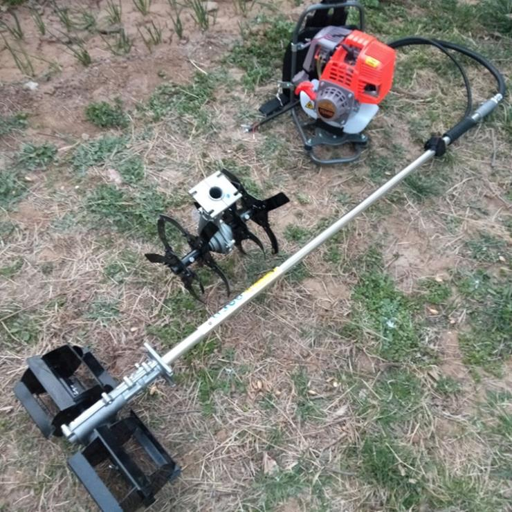 推式汽油割草机 大功率推车式四冲程割灌机
