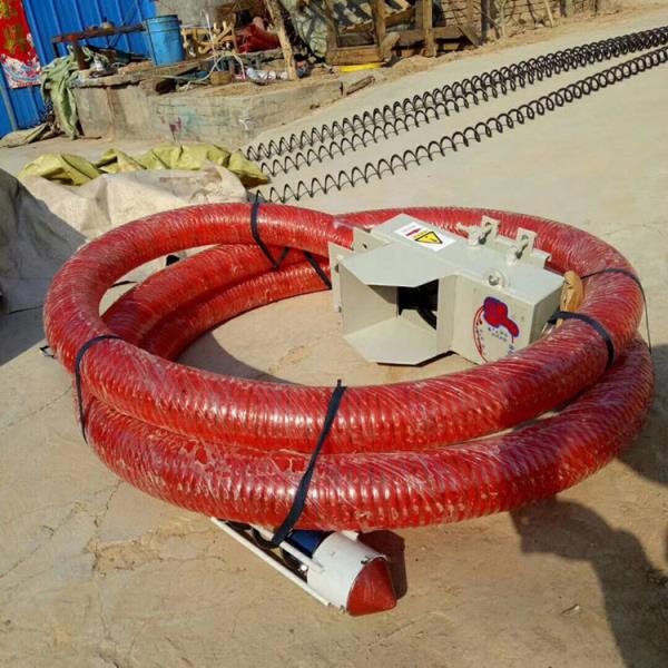 车载螺旋8米收粮机 玉米扒粮小麦抽粮机 软管式绞龙吸粮机