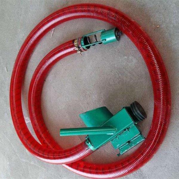 4米软管吸粮机 车载式电动抽粮机 螺旋式吸沙机