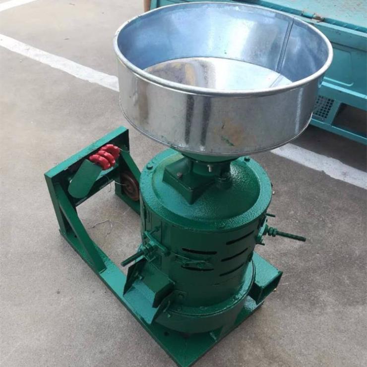 砂辊式碾米机 两相电打谷机稻谷碾米机