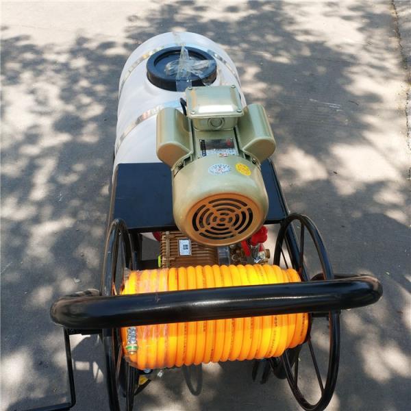 喷雾器 小推车汽油喷雾器 四轮车果园打药机图片
