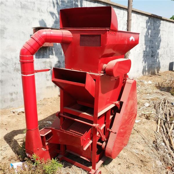 家用花生剥壳机 无破损种子去壳机 电动除尘脱皮机