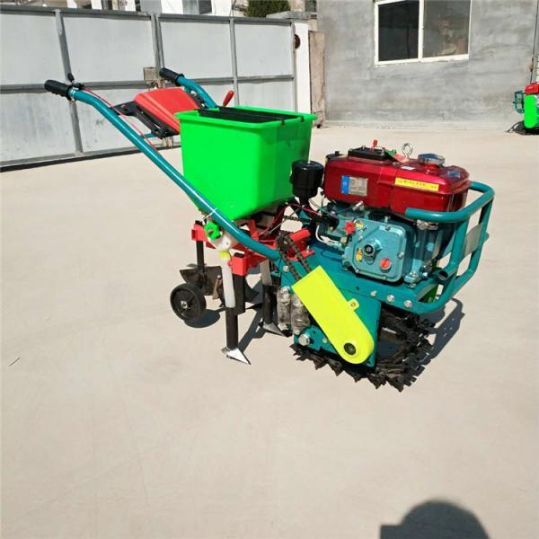 汽油自走式播种机 轮式三行追肥机 农用耘播机