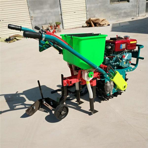 大马力汽油播种机 链辊式追肥机 大豆高粱播种机